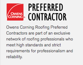 Preferred Contractor of Owens Corning Shingles in McLean County, IL